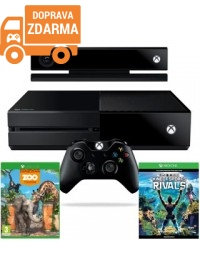 Xbox One 500GB With Kinect + Kinect Sports Rivals + ZOO Tycoon ( Token )
