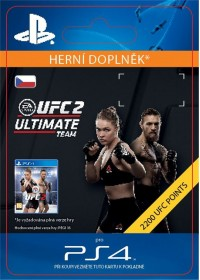 CZ PS4 - EA SPORTS UFC® 2 - 2200 UFC POINTS
