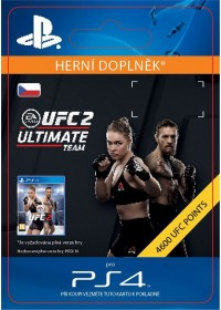 CZ PS4 - EA SPORTS UFC® 2 - 4600 UFC POINTS
