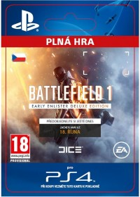 CZ PS4 - Battlefield 1 Early Enlister Deluxe Edition