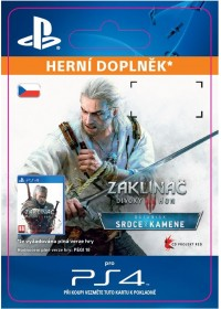 "CZ PS4 - The Witcher 3: Wild Hunt €"" Hearts of Stone"