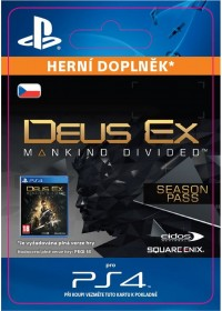 CZ PS4 - Deus Ex: Mankind Divided - Season Pass