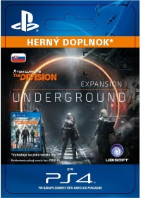 SK PS4 - TOM CLANCY'S THE DIVISION underground