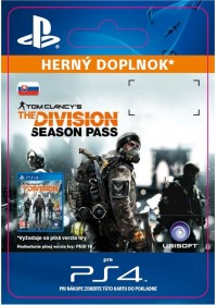 SK PS4 - Tom Clancy's The Division - Season Pass