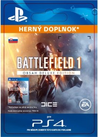 SK PS4 - Battlefield 1 Deluxe Edition Content