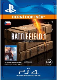 CZ PS4 - Battlefield 1 Battlepacks x 3