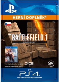 CZ PS4 - Battlefield 1 Battlepacks x 10