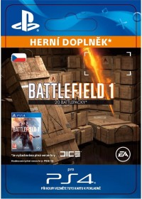 CZ PS4 - Battlefield 1 Battlepacks x 20