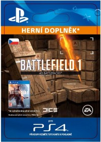 CZ PS4 - Battlefield 1 Battlepacks x 40