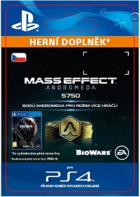 CZ PS4 - 5750 Mass Effect: Andromeda Points