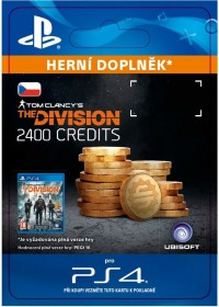 CZ PS4 - Tom Clancy's The Division - 2400 Premium Credits Pack