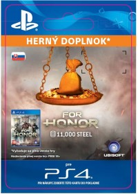 SK PS4 - FOR HONOR 11 000 STEEL Credits Pack