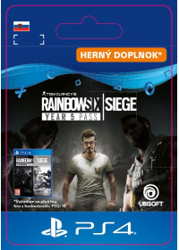 SK PS4 - Tom Clacy's Rainbow Six Siege - Year 5 Pass