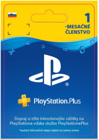 SK PS4 - PlayStation Plus 1 Month Subscrip.