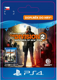 CZ PS4 - The Division 2 - Warlords Of New York - Expansion