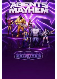 Agents of Mayhem - Legal Action Pending DLC (PC) Steam