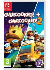 Overcooked 1 special edition+ Overcooked! 2 double pack