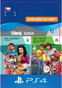 CZ PS4 - The Sims™ 4 Cats and Dogs Plus My First Pet Stuff Bundle