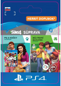 SK PS4 - The Sims™ 4 Cats and Dogs Plus My First Pet Stuff Bundle