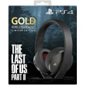 Limited Edition The Last of Us Part II PS4 GOLD Wireless 7.1 headset