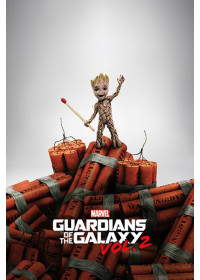 Guardians of the galaxy vol 2 GROOT DYNAMITE /Strážcovia galaxie vol 2/