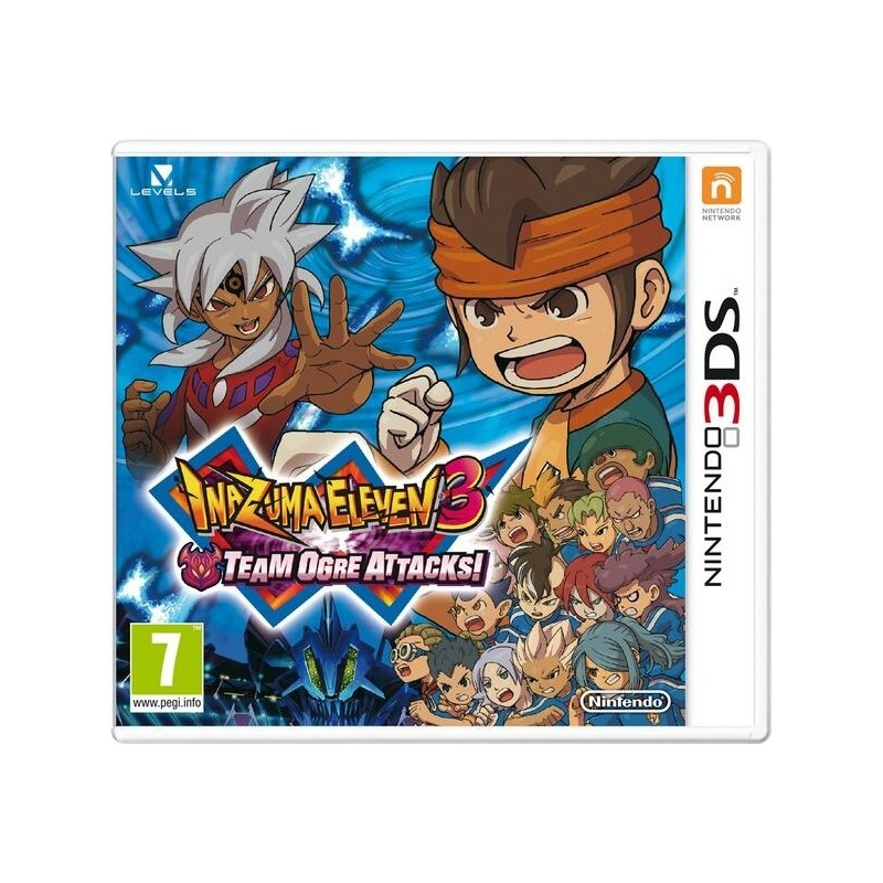3ds inazuma eleven team ogre attacks - Lego inazuma eleven ...