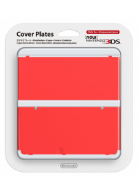 New 3DS Cover Plate 18 (Red)