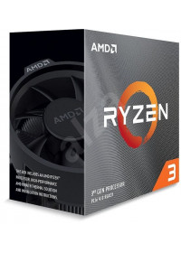 AMD, Ryzen 3 3100, Processor BOX, soc. AM4, 65W, with Wraith Stealth cooler