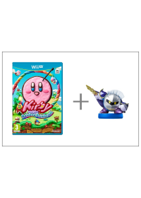 WiiU Kirby and Rainbow Paintbrush + Meta Knight