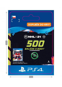 CZ PS4 - NHL 21 – 500 Points Pack