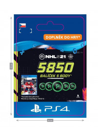 CZ PS4 - NHL 21 – 5850 Points Pack
