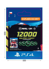 CZ PS4 - NHL 21 – 12000 Points Pack