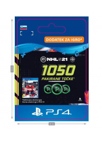 SI - NHL 21 – 1050 Points Pack