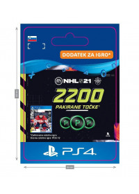 SI - NHL 21 – 2200 Points Pack