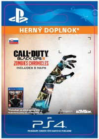 SK PS4 - Call of Duty Black Ops III: Zombies Chronicles