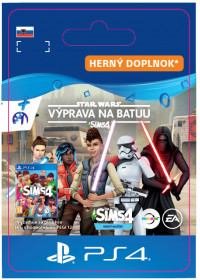 SK PS4 - The Sims™ 4 SW™ Journey to Batuu GP