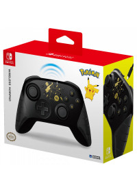 SWITCH Wireless HORIPAD PikachSWITCH Wireless HORIPAD Pikachu Black Gold Ed.u Black Gold Ed.