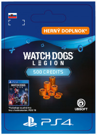 SK PS4 - WATCH DOGS: LEGION 500 WD CREDITS PACK