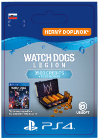 SK PS4 - WATCH DOGS: LEGION 4550 WD CREDITS PACK