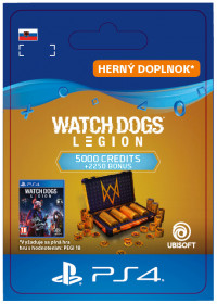 SK PS4 - WATCH DOGS: LEGION 7250 WD CREDITS PACK