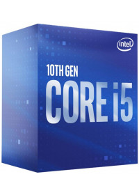 INTEL Core i5-10400 / Comet Lake / 10th / LGA1200 / max. 4,3GHz / 6C/12T / 12MB / 65W TDP / BOX