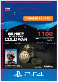 SI - 1,100 Call of Duty®: Black Ops Cold War Points
