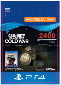 SI - 2,400 Call of Duty®: Black Ops Cold War Points