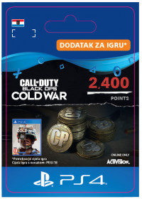 HR - 2,400 Call of Duty®: Black Ops Cold War Points