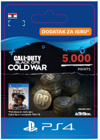 HR - 5,000 Call of Duty®: Black Ops Cold War Points