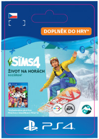 CZ PS4 - The Sims™ 4 Snowy Escape Expansion Pack