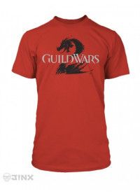 Tričko Guild Wars 2 Logo Red