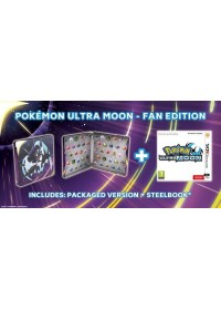 3DS Pokémon Ultra Moon Steelbook Edition