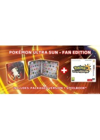 3DS Pokémon Ultra Sun Steelbook Edition