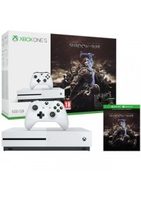 XBOX ONE S 500GB + Shadow of War